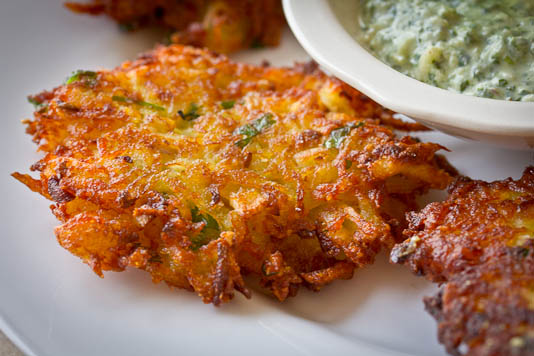 Spiced Latkes