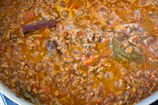 Cooking Bolognese