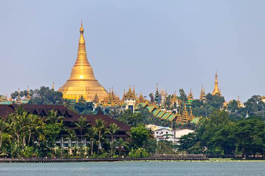 Shwedagon Pagoda - Burma