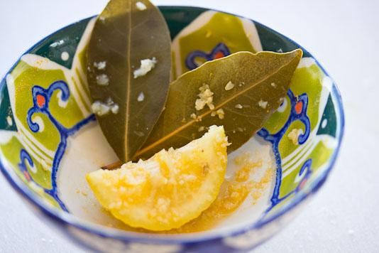 Bay Leaves and Lemon