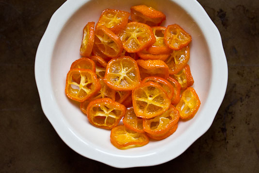 Bowl of Kumquat Glass