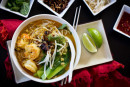 Curry Laksa With Shrimp: From Skyscrapers To Brownstones
