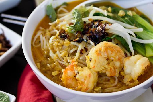 Shrimp Curry Laksa