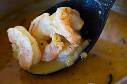 Shrimp for Laksa