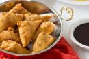 Mango Ginger Samosas