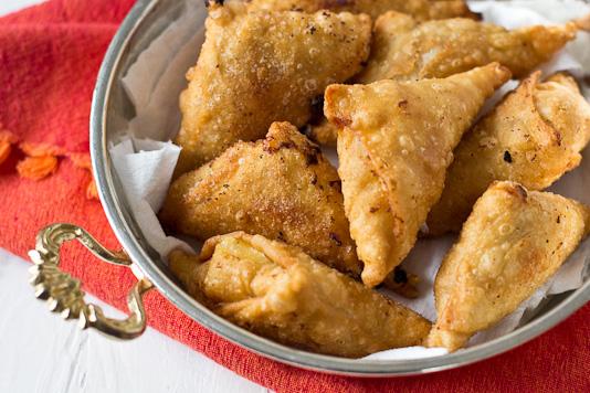 Dessert Samosas Mango Ginger