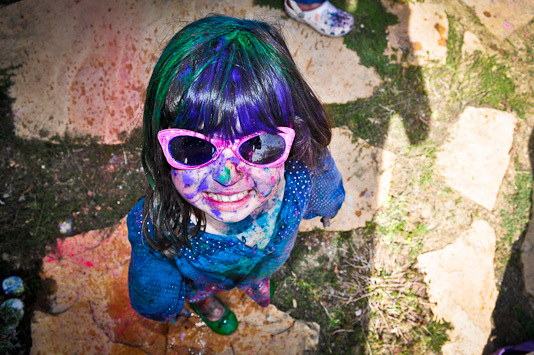 Holi Festival Celebrated