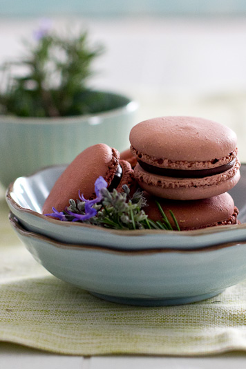 Macaroons and Lavender