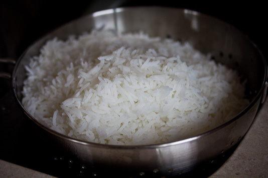 show me how to cook rice