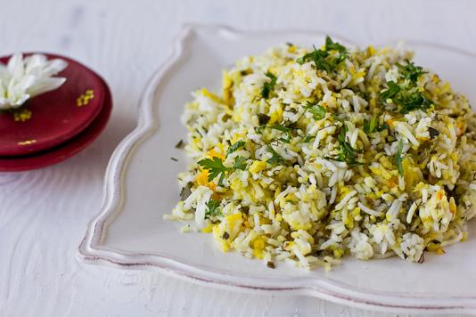 Sabzi Polo - Herb Rice
