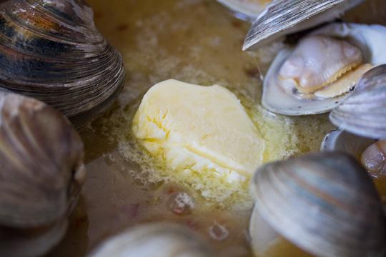 Butter Clam Sauce