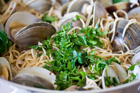 Parsley with Clams