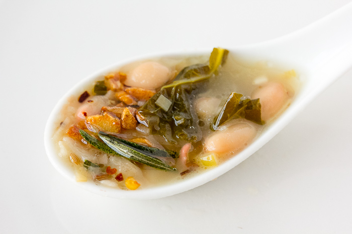 Perfect Morsel: White Bean Rosemary Soup