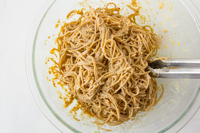 Pasta Walnut Pesto