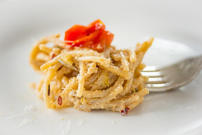 Perfect Morsel: Walnut Pesto Pasta